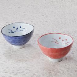 猫,夫婦茶碗