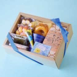 父の日,外箱,わらび餅,焼き菓子,猫食器