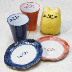 フリーカップとデザート皿のペアセット