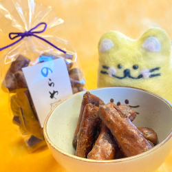 かりんとう,黒糖,猫,焚黒糖,和菓子