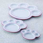 猫,食器,肉球,皿,プレート,ピンク