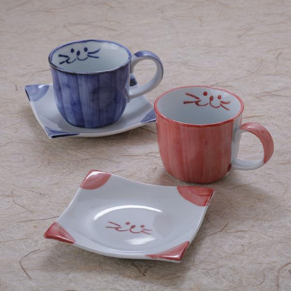 ペアコーヒーカップセット