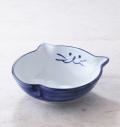 ブルー,浅鉢,猫,かわいい,キュート