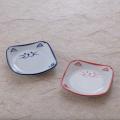 小皿 食器 猫 のらや 美濃焼 磁器